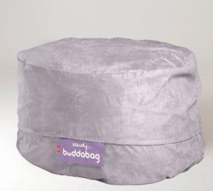 Buddabag Midi Cover - Micro Suede Candy Buddabag Mini Cover - Micro Suede Candy Mercury Grey