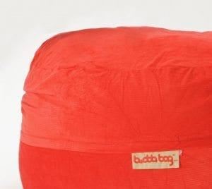 Maxi Buddabag - Cord Red Close-up