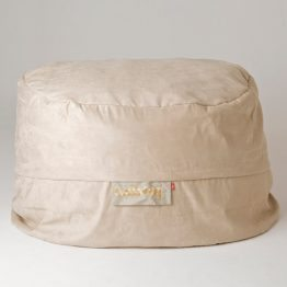 Maxi Buddabag - Suede Beige Features
