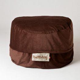 Midi Buddabag - Cord Brown Features