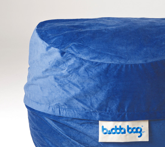 Midi Buddabag - Cord Blue Close Up