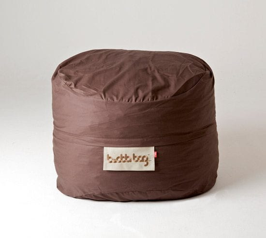 Mini Buddabag - Cord Brown Features