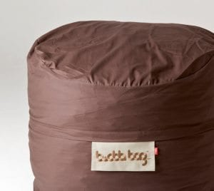 Mini Buddabag - Cord Brown Close-up