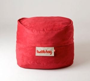 Mini Buddabag - Suede Red Features