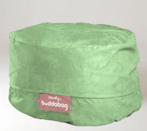 Buddabag Mini Cover - Micro Suede Candy Turquoise