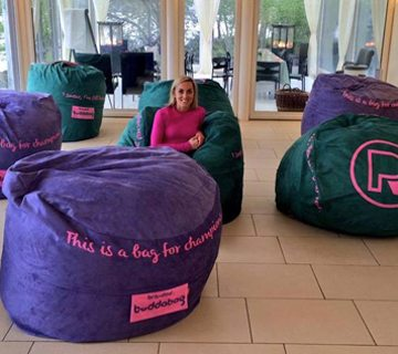 Branded Buddabag - Bean Bags