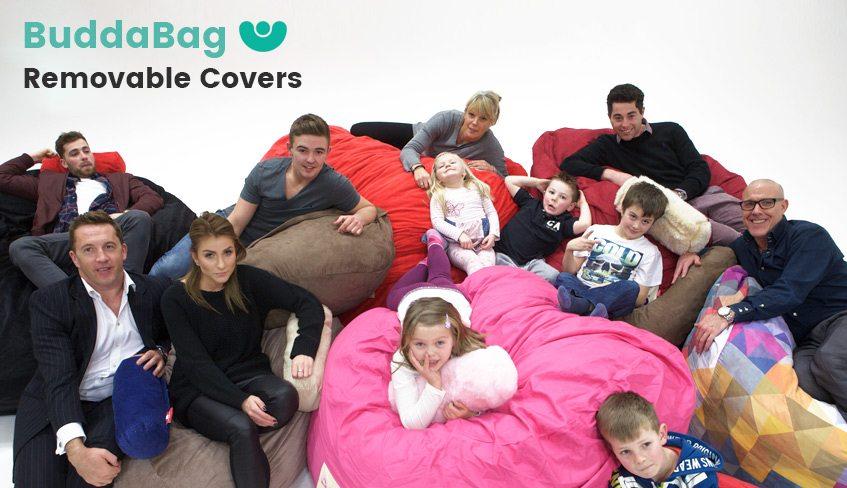 Buddabag Easily Removable Covers