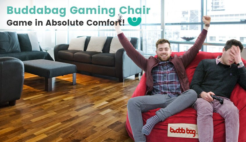 Buddabag Gaming Chair – Game in Absolute Comfort! REPLACE