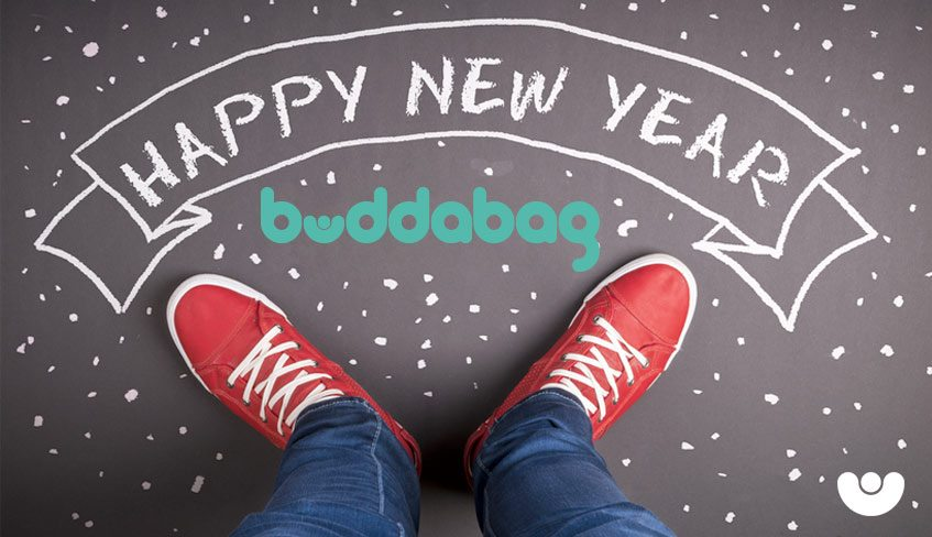 Happy New Year - Buddabag - Bean Bag