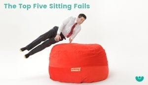 The Top Five Sitting Fails
